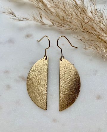 Half circles earrings
