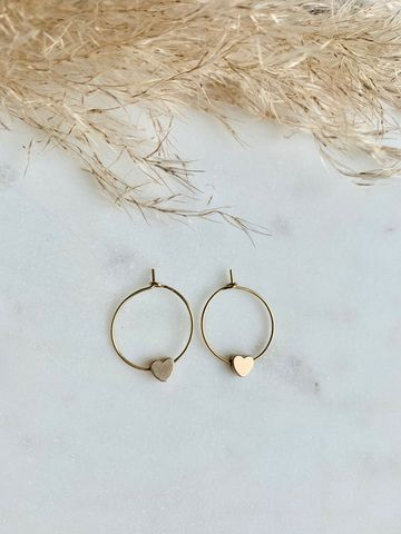 Love orbit earrings