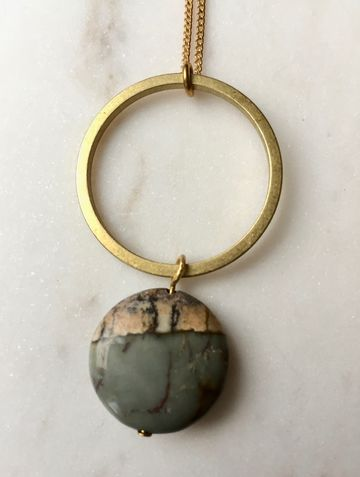 Picasso Stone Necklace