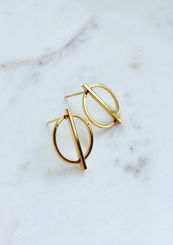 Healthy boundaries earrings
