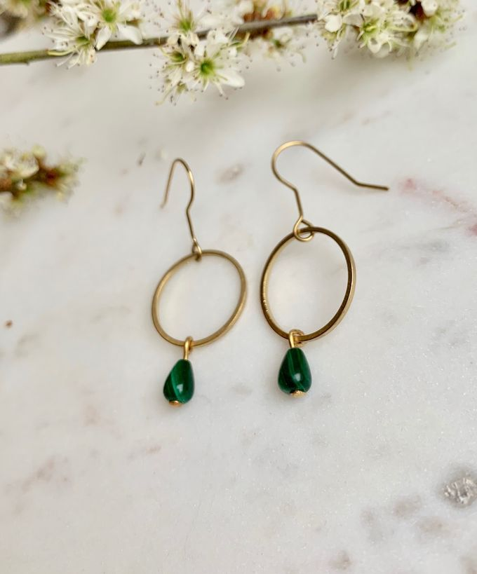 Moss earrings