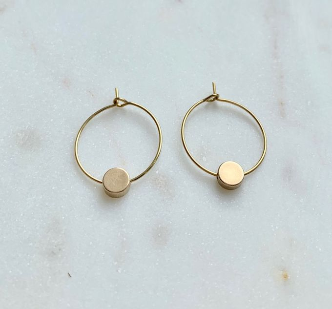 Orbit earrings medium