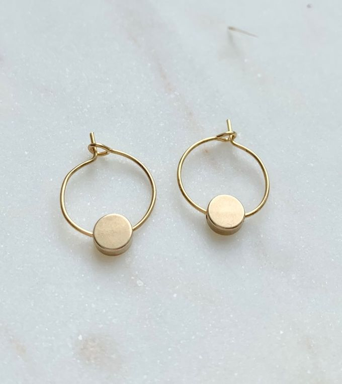 Orbit earrings small
